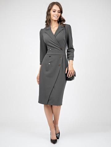 Платье helga, цвет темно-серый