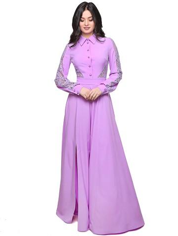 Платье ashley, цвет сиреневый