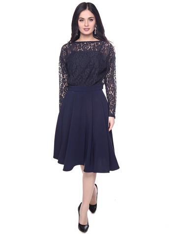 Платье donna, цвет темно-синий