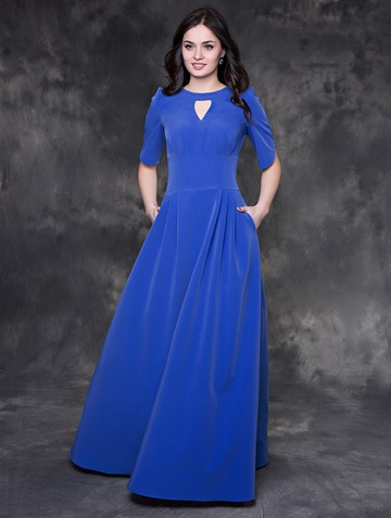 Платье mihael, цвет голубой