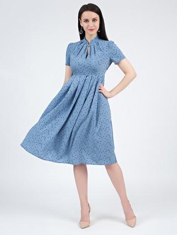 Платье irna, цвет серо-голубой