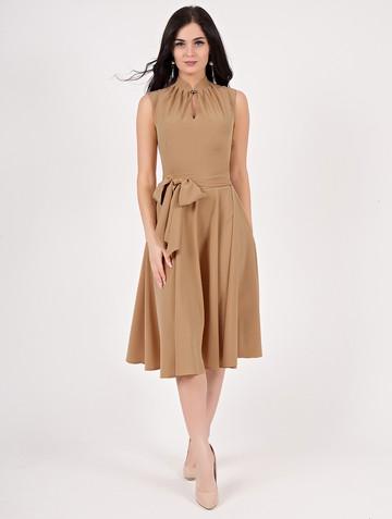Платье kristen, цвет песочный