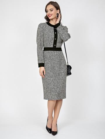 Платье rakifa, цвет серый
