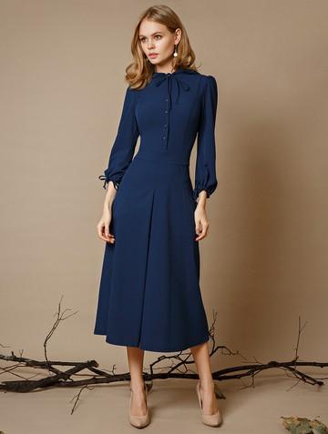 Платье alana, цвет сине-бирюзовый