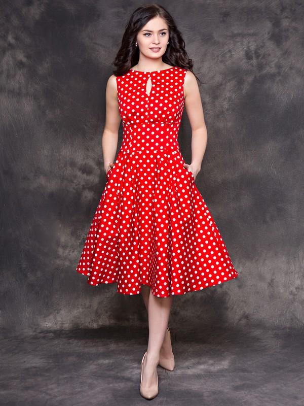 ea2cddc4326 Купить Платье nikole горошек на красном в Москве по цене 2956.0 руб ...