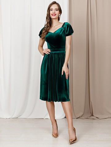 Платье ramona, цвет бирюзовый