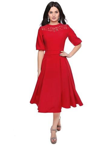 Платье vulevu, цвет красный