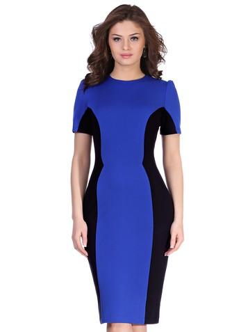 Платье milly, цвет сине-черный