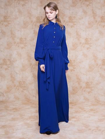 Платье tergea, цвет ультрамарин