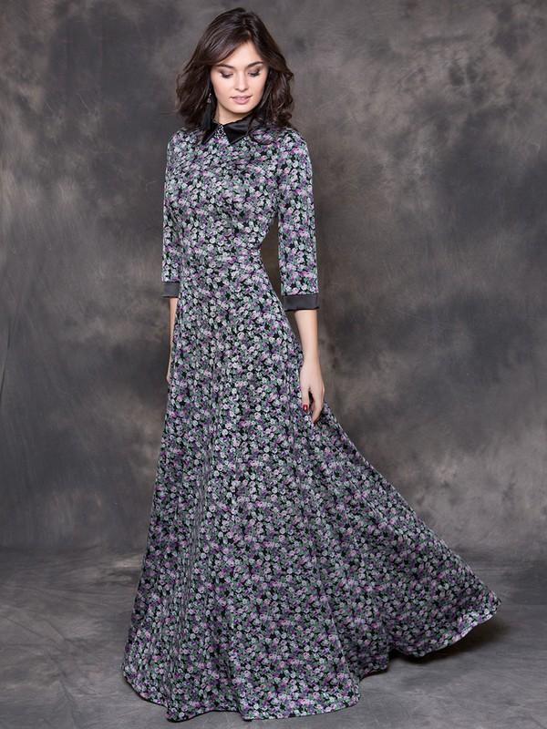 Платье valentino черно-фиолетовый greycat купить в Москве по цене ... a5d807aa457