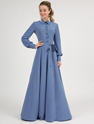 Платье labella, цвет серо-синий