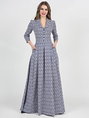 Платье delisha, цвет темно-лазурный