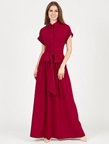 Платье rikarda, цвет гранатовый