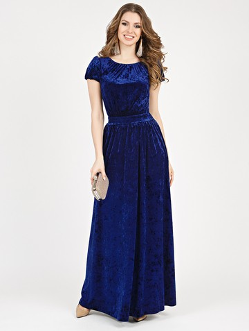 Платье veridy, цвет темно-синий