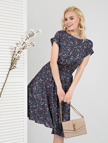 Платье lanty, цвет серо-розовый