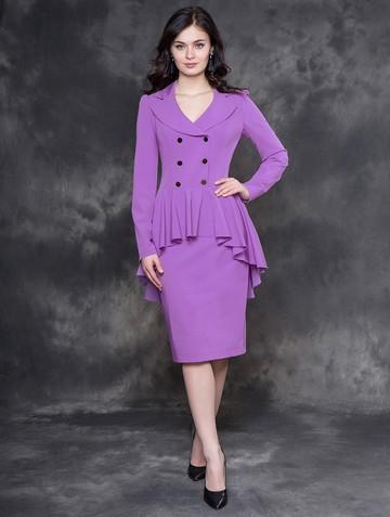 Платье afrodita, цвет сиреневый