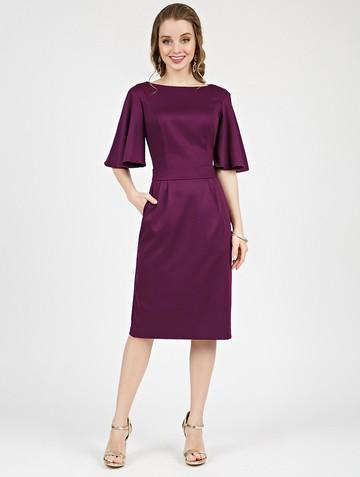 Платье kiriana, цвет сливовый