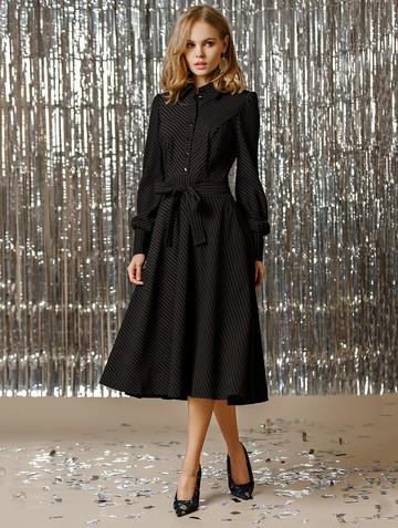 Платье melania, цвет черный