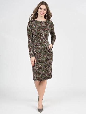 Платье parisa, цвет черно-песочный