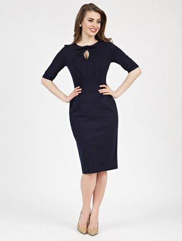 Платье brisby, цвет темно-синий