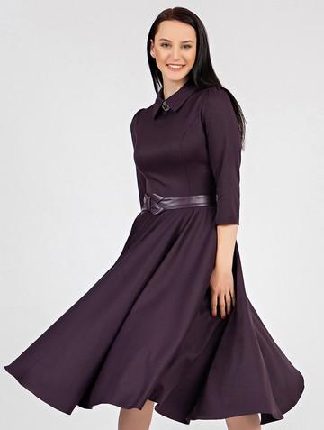 Платье macgery, цвет сливовый