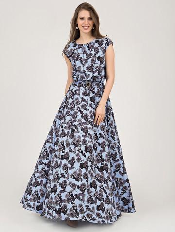 Платье vista, цвет голубой
