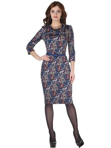 Платье filiny, цвет бирюзовая мозаика