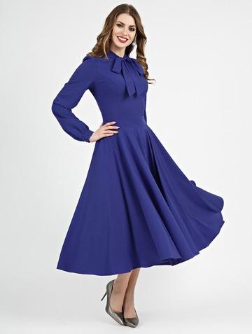 Платье antrea, цвет васильковый