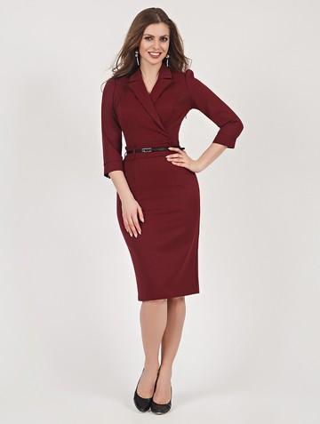 Платье nandu, цвет бордовый