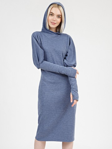 Платье lipty, цвет синий