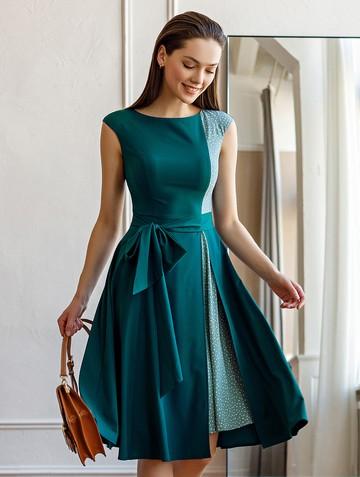 Платье rashy, цвет тёмная мята