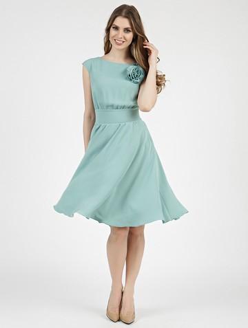 Платье beladonna, цвет серо-мятный