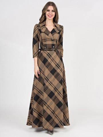 Платье lafetta, цвет бежево-черный