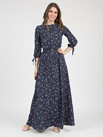 Платье assanta, цвет индиго