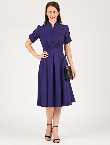 Платье mariatta, цвет чернильный