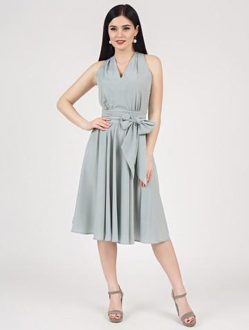 Платье serafima, цвет серо-мятный