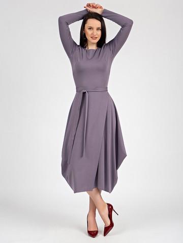 Платье marena, цвет лиловый