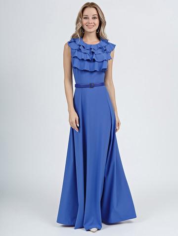 Платье irally, цвет голубой
