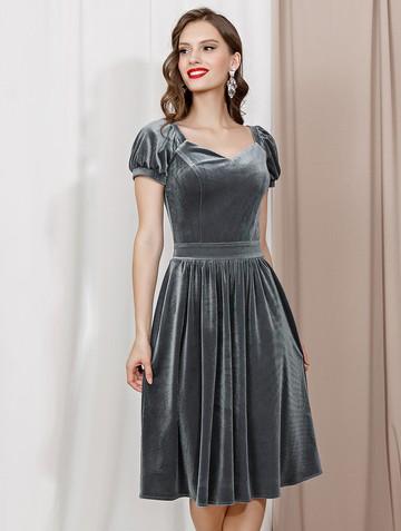 Платье ramona, цвет серый