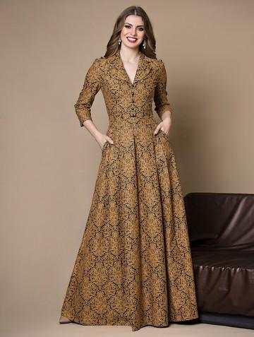 Платье delisha, цвет медовый