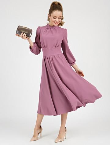 Платье nalva, цвет розово-лиловый