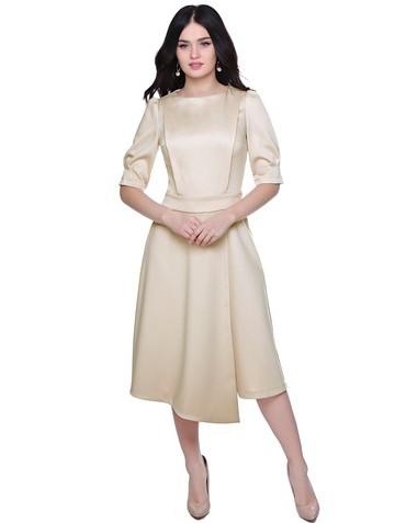 Платье elda, цвет бежевый