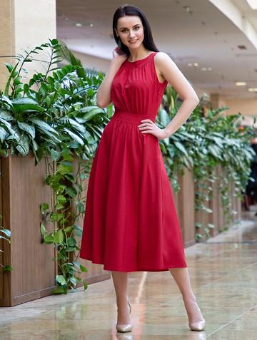 Платье inara, цвет красный