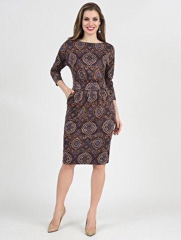 Платье dilara, цвет лиловый