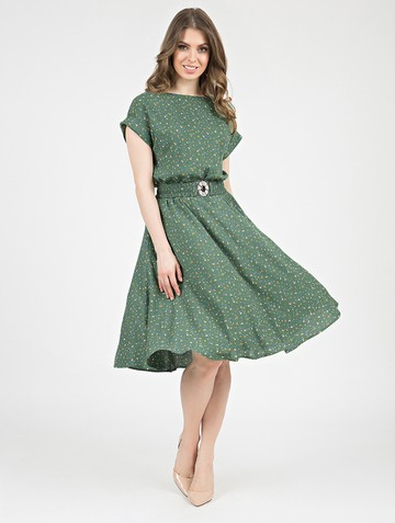 Платье lanty, цвет оливковый