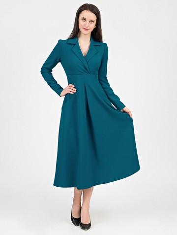 Платье estel, цвет темно-бирюзовый