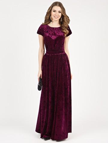 Платье veridy, цвет сливовый