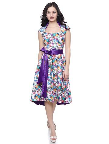 Платье debora, цвет молочно-бирюзовый