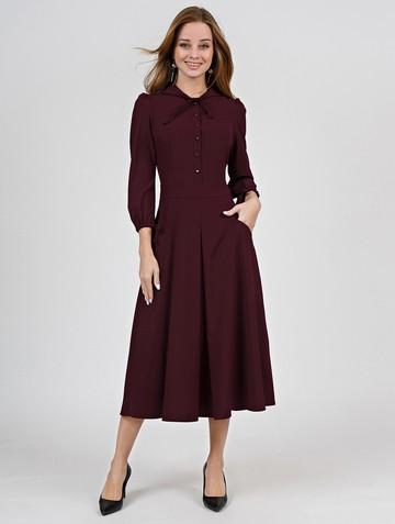 Платье alana, цвет бордовый