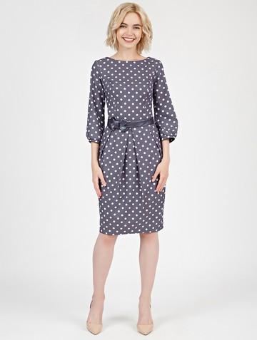 Платье dayan, цвет сине-белый